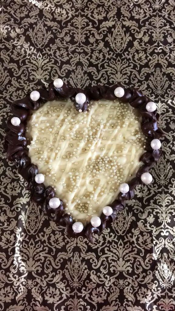 Ovo de Colher em Formato de Coração Sabor Ninho